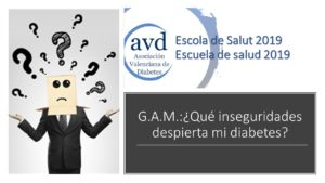 GAM INSEGURIDADES Y DIABETES